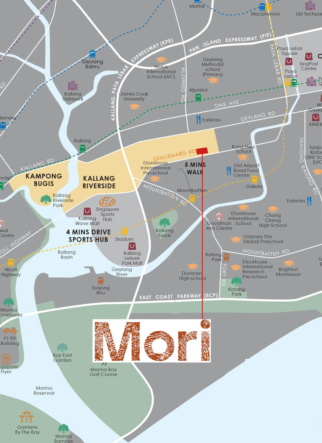 Mori Condo Nearby amenities