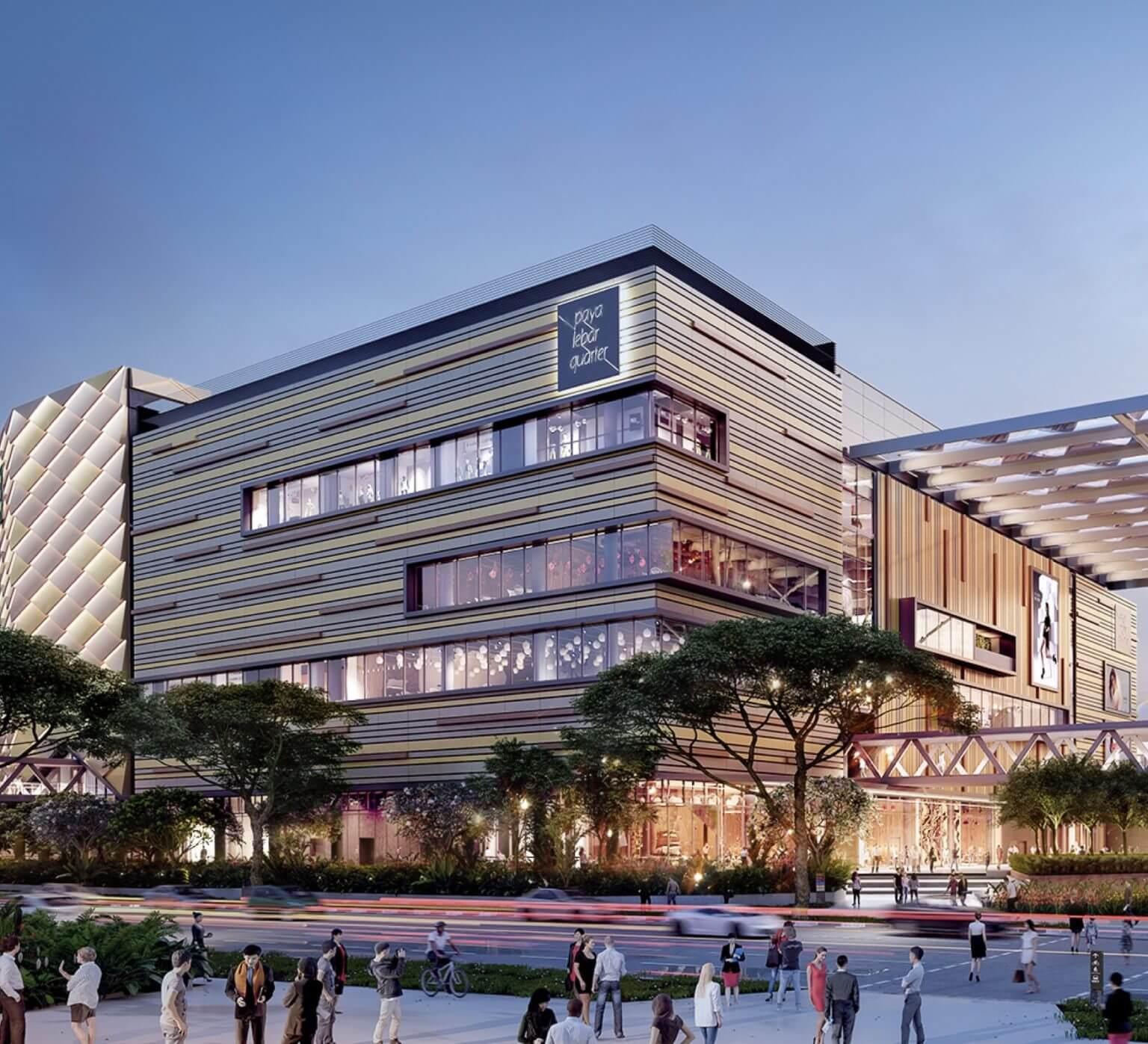 Mori Condo Paya Lebar Square shopping mall