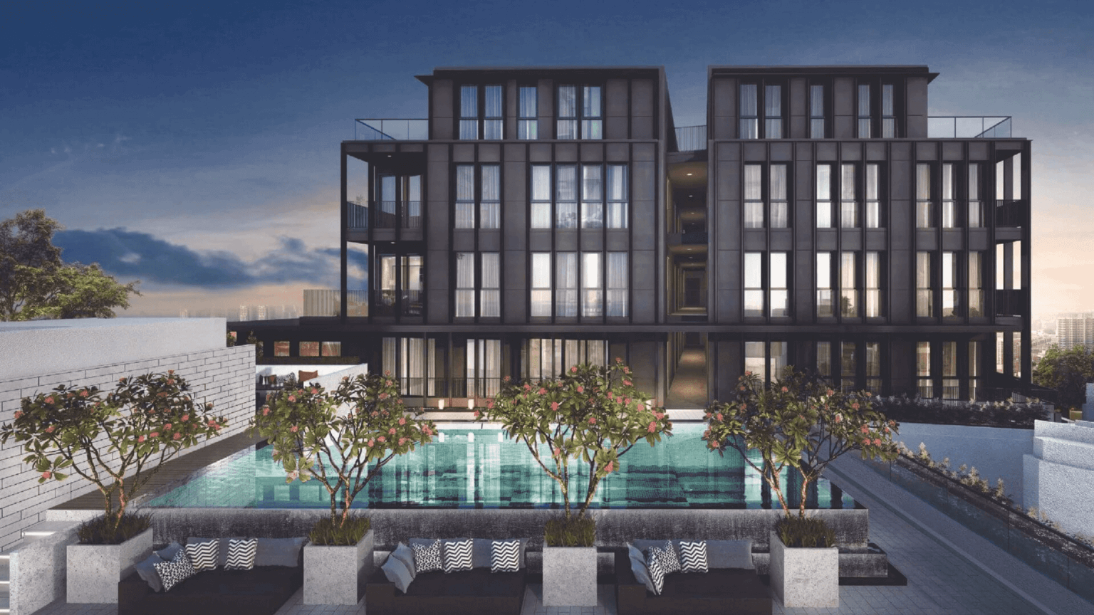 Mori Condo Site Plan at Guillemard Front View