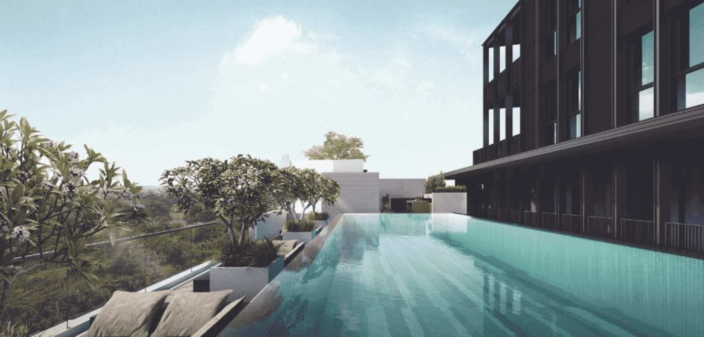 Mori-Condo-at-Guillemard-building-and-Pool-sideview